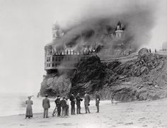 Cliff House fire, 1907