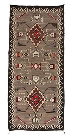 Teec Nos Pos Navajo Weaving : Historic : PC 88