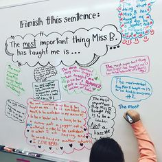 Teachers teach more than just content.  #miss5thswhiteboard