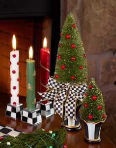 http://www.mackenzie-childs.com/Holiday/Holiday+Decor/Wreaths+Trim+Trees/Bottle+Brush+Tree+-+Small.axd#.VE7MPYvF-P4