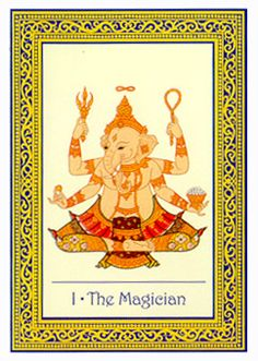 March 9 Tarot Card: The Magician (Royal Thai deck) You hold all the skills you need to succeed ~ it's time to get started