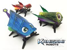 Kamigami — World's First DIY Lightning-Fast Origami Robots project video thumbnail