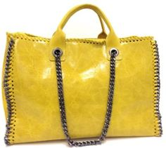 Brighten your autumn with this super cool and big bag – Nmi in Yellow! Dare to be different and think outside the square with this bright and vibrant number. Perfect with jeans! Also available in grey for a more sleek look.