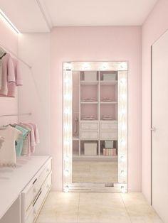 38 Ideas vintage kids room ideas decor for 2019 Dream Rooms, Dream Bedroom, Closet Bedroom, Bedroom Decor, Bedroom Ideas, Pink Closet, Mirror Bedroom, Girl Bedroom Designs, Bathroom Kids
