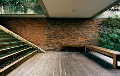 Sithowati house by Adi Purnomo - recycled brick used for external walls