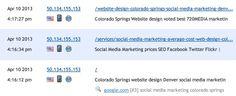 google search, Denver Colorado, iPad - social media marketing colorado springs - landing page: http://www.720media.com