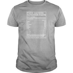 Pure Haters Nutrition Facts, Black T-Shirts #gift #ideas #Popular #Everything #Videos #Shop #Animals #pets #Architecture #Art #Cars #motorcycles #Celebrities #DIY #crafts #Design #Education #Entertainment #Food #drink #Gardening #Geek #Hair #beauty #Health #fitness #History #Holidays #events #Home decor #Humor #Illustrations #posters #Kids #parenting #Men #Outdoors #Photography #Products #Quotes #Science #nature #Sports #Tattoos #Technology #Travel #Weddings #Women