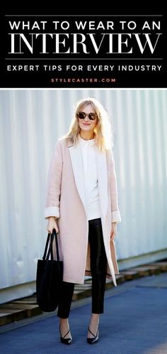 What to Wear to a Job Interview. Expert advice for every industry!
