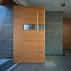 Modern Doors - contemporary - front doors - Borano | Architecture ...