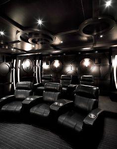 The Martinique Luxury Estate - Home Theatre