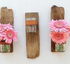 So cute & easy to make - great for a rustic wedding.