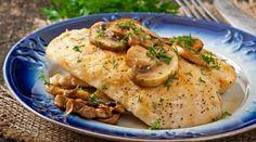 Mit den kalorienarmen Champignons ist das schnelle Gericht perfekt für Dich und Dein Sixpack in spe!