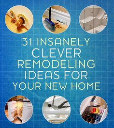 Kaila's Place  21 Clever remodeling ideas for your home