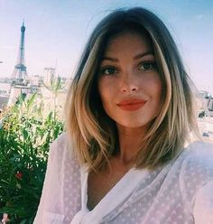 10.Short Hairstyles Round Face