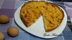 La quiche lorraine è una torta salata molto semplice da realizzare e dal gusto molto saporito.Ideale per una cena veloce, come antipasto o come piatto unico