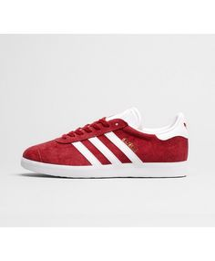 best sneakers f1bcf 210b0 Adidas Gazelle Womens Trainers In Scarlet White