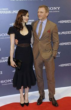Rachel Weisz and Daniel Craig Photo - 'The Girl With The Dragon Tatoo' Madrid Premiere 2