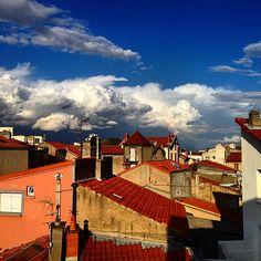Căși și nori. #clouds