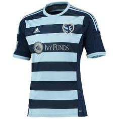 13c80ec73 Sports Licensed Division of the adidas Group LLC Sporting Kansas City Away  Shirt 2014 15