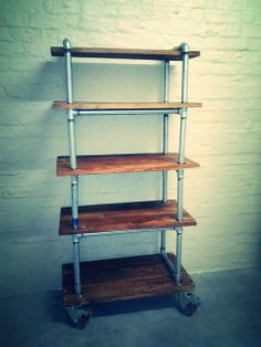 Pipe shelves by {Bezoo}
