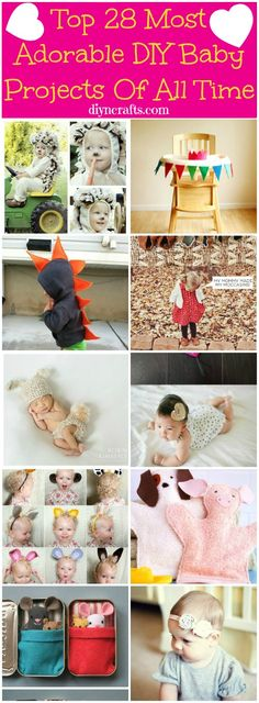 Top 28 Most Adorable DIY Baby Projects Of All Time – Page 9 of 4 – DIY &...