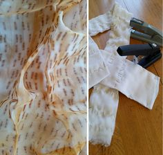 Interesting Way To Create Textures On Fabric is part of painting Fabric Textiles - Very less do we know that we can create textures and pattern with the things easily available at home Here are few interesting ideas to try with fabric dying Fabric Painting, Fabric Art, Fabric Crafts, Painting Tips, Shibori, Textile Dyeing, Textile Fiber Art, Dyeing Fabric, Natural Dye Fabric