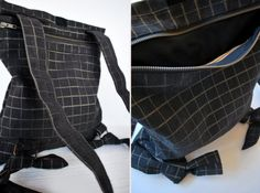 Classy convertible backpack Messenger bag by misirlouHandmade
