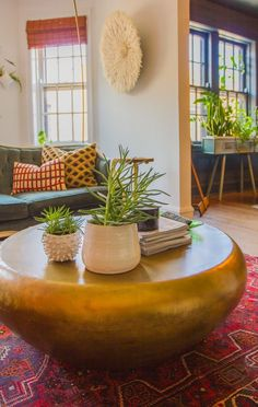 Lauren's Bold Chicago Apartment Bursting With DIY Projects