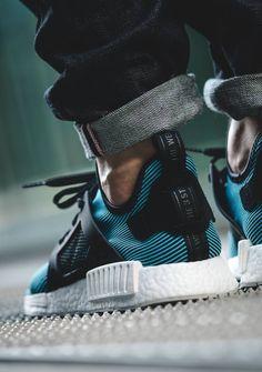 SPORTSWEAR ™®: Sneakers: Adidas NMD XR1 PK 'Bright Cyan' || Follow @filetlondon for more street wear style #filetclothing