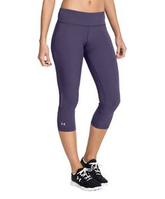 Look what I found on #zulily! Twilight Purple Stunner Stretch Capri Pants by Under Armour® #zulilyfinds