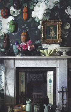 The Wonder in Us - 8 Great Ways to Use Wallpaper - by Ellie Cashman Design