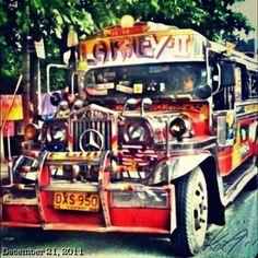 ジープ #jeepney #philippines