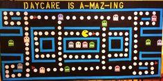 Pac Man Bulletin board
