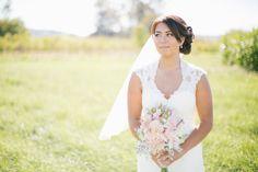 Colorful Backyard Country Wedding