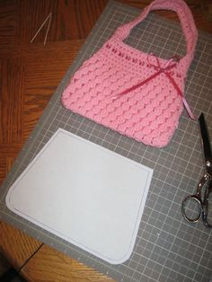 crochet purse by speckless