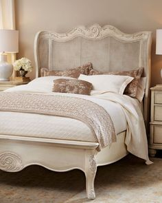 BEAUTIFUL.. IF I COULD FIND TWIN BED LIKE THIS...