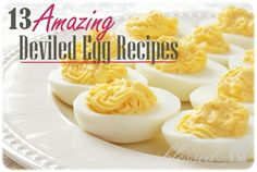 13 Amazing Deviled Egg Recipes | MyBlessedLife.net