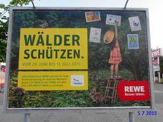601. - Plakat in Stockach. / 05.07.2015./