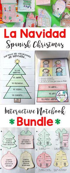 La Navidad/Spanish Christmas: Interactive Notebook Bundle