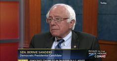 JUNE 22, 2016 Bernie Sanders 2016 Presidential Campaign Senator Bernie Sanders (I-VT), a 2016 Democratic presidential candidate, talked about his life and career.