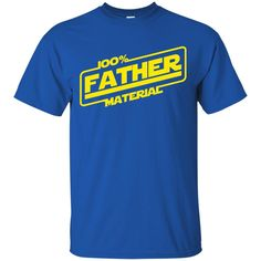 Star Wars Father Shirts 100% father Material T-shirts Hoodies Sweatshirts