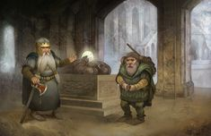 Dwarf Adventurer by *JonHodgson on deviantART