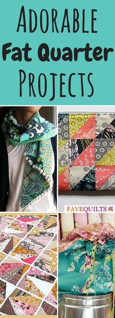Free fat quarter projects