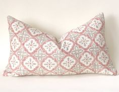 Offered is one Blush and cream pillow cover, in your choice of fabric and size. The Batik Floral is Cream and shades of Blush, the Tile pattern pillow is blush and grey on cream.Care Info: Machine wash delicate, lay flat to. Blush Pillows, Cream Pillows, Neutral Pillows, Colorful Pillows, Boho Pillows, Cream Pillow Covers, Sofa Pillow Covers, Pillow Fabric, Lumbar Pillow