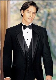 Navy Blue Customized Business Mens Suits 3 Pieces (Jacket+Pants+Vest) - chicmaxonline Groom Tuxedo Wedding, Wedding Men, Wedding Suits, Wedding Tuxedos, Irish Wedding, Wedding Attire, Dream Wedding, Wedding Ideas, Prom Wear For Guys