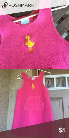 Big Bird Jumper This pink jumper is a little thick, so recommended weather is either fall or winter. One two sided pocket on the front and big bird is embroidered on the front center. Sesame Street Dresses Casual