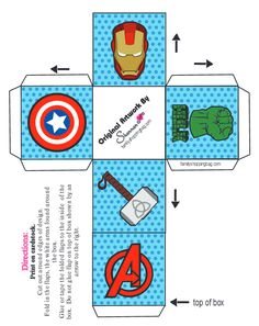 Avengers Birthday, Superhero Birthday Party, 6th Birthday Parties, Baby Birthday, Hulk Party, Batman Party, Party Props, Party Themes, Superhero Favors
