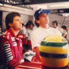 Ayrton Senna: Todos os companheiros de equipe  Michael Andretti / McLaren 1993