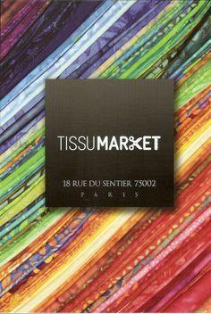 Adresses magasins de tissus sur Paris