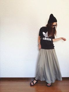 Adidas Originals, Tulle, Ballet Skirt, Womens Fashion, Casual, Skirts, Japanese Style, How To Wear, Hair